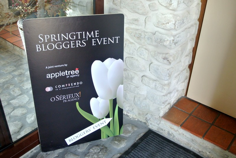 Springtime Blogger Event